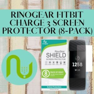 Read more about the article Rinogear Fitbit Charge 3 Screen Protector (8-Pack)
