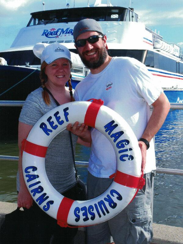 Great Barrier Reef Pre Boarding - Reef Magic Cruises: Cairns, Australia