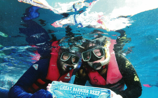Swimming the Great Barrier Reef - Reef Magic Cruises: Cairns, Australia