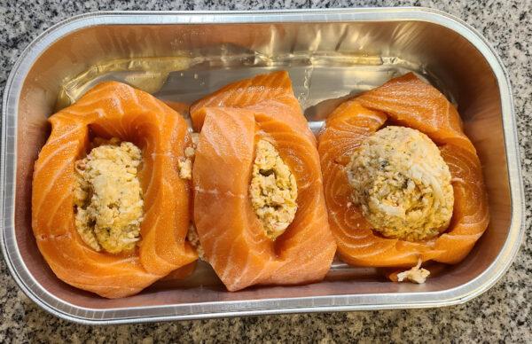 Costco Stuffed Salmon Pre Cooking