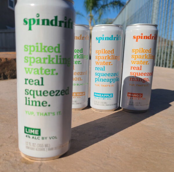 Spindrift Spiked Lime